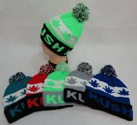 Knit Hat with PomPom [KUSH]